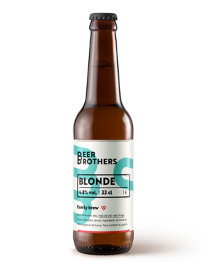 Beer Brothers blonde beer