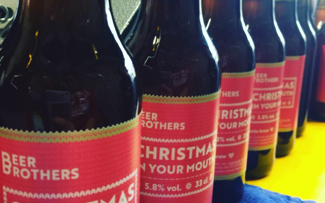Beer Brothers Christmas Beer
